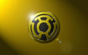 Sinestro Corps Logo Wallpaper by SUPERMAN3D