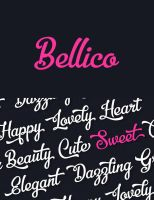 Free Bellico Typeface Font by Designslots
