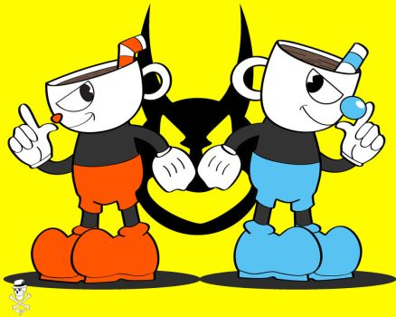 Cuphead and Mughead by CZProductions