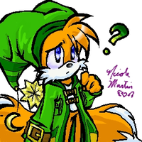 Jester Tails confused by starshock12