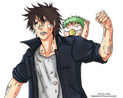 Beelzebub: Oga-Beel color by makiri