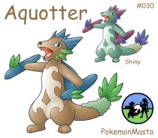 Aquotter 030 by PokemonMasta