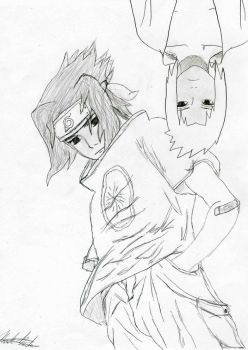Sasuke and Kyo by Kiranaomipartners
