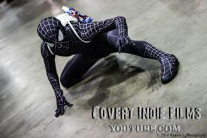 Amazing Black Spider-Man by MiracleKata1