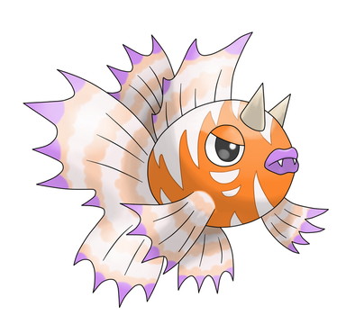 Alolan Seaking / Alola form (fakemon) by Alpheux