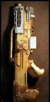 Steampunk/Fallout Style Longshot Progress Shot by JohnsonArms