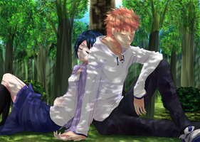 Ichiruki - Forest by gone-phishing