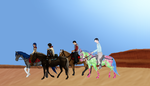Large Outlaw Trail Collab WIP by Padfoot7411