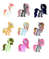 Adoptables (6 Points Each) by Spotted-Puppy
