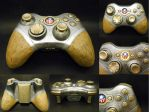 Bioshock Infinite Columbia Controller by i---D---i