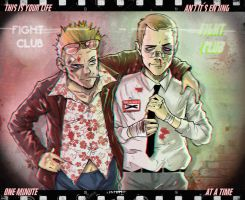 the FIGHT CLUB by MrParanoidXXX