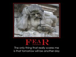Fear Demotivator by redvideo