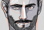 portait of a dude 5 for dale by deathbearbrown