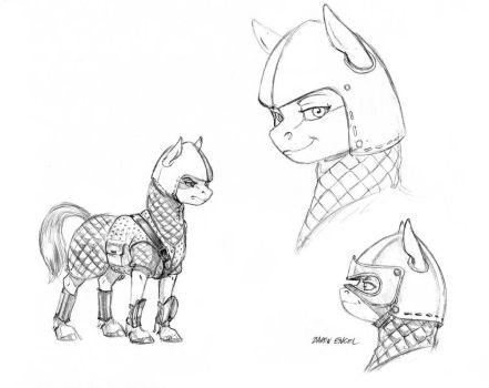 Alpine earth pony armor 01 by Baron-Engel