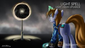 Fallout Equestria: Light Drain Upgrade Spell by Jeffk38uk