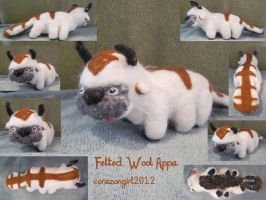 Felted Wool Appa by corazongirl