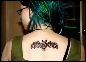 Bat-tattoo. by MoiraHermione