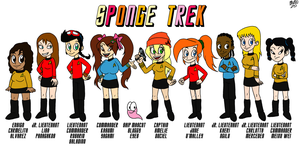 Sponge Trek by TuxedoMoroboshi