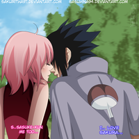 Sasusaku: The First Kiss by IITheDarkness94II