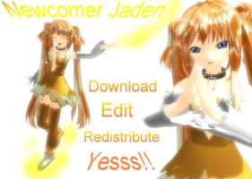 MMD: Newcomer request Jaden+DL by MsYelenaJonas
