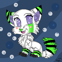 chibi wolf by dragonrace