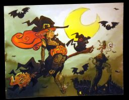 Halloween is coming by Pessaro