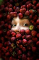 Strawberries III by Borodox