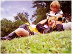 Kagamine's forever by PrisCosplay