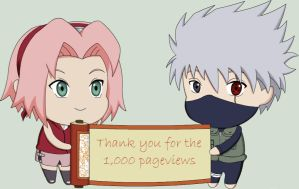 Thanks 4 the 1,000 pageviews by Yumi-chan86