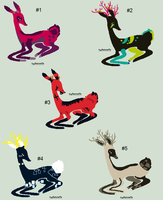 100-9 Themes - Deer Adopts - Adopted by Feralx1
