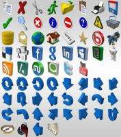 3D Icons Starter Pack by ray-bot