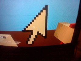 mouse cursor pixel art by Darkussdude3901