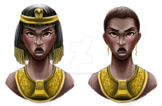 Character Bust - Anka by sequentialnerd