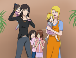 Uchimaki family photo by narusasu2009
