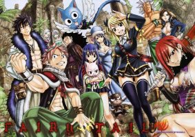 Wallpaper Fairy Tail 263, 2269 x 1600 by Gray-anomfullbuster