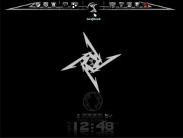 Metallica Rainmeter by suraj-hawk