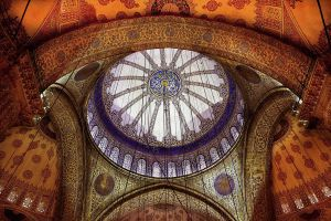 Dome of the Blue Mosque by vicymarine