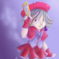 Card Captor from First Grade by LizzyJun
