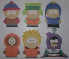 South Park Construction Paper by Dragongirl9888