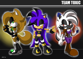 Team Toxic Contest by Domestic-hedgehog