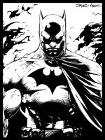 Detail of Pencils Jim lee - ink abdol by abdol-ilustrador