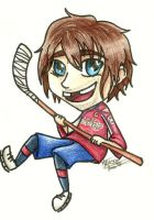 Chibi Ovechkin by flamingmarshmallows