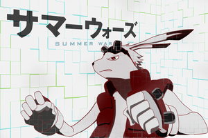 King Kazma Summer Wars Wallpaper by SamXJing