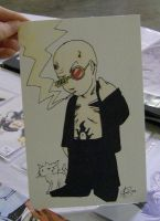 Spider Jerusalem by AmberStoneArt