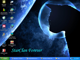 StarClan Desktop by MetalWolfGemstone