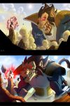 Goku vs Vegeta Ape b4 and after by Javas