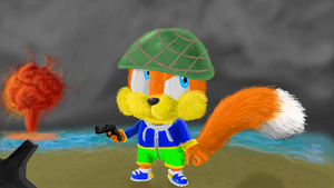 Conkers Bad 3D Day by SpongicX
