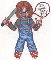 Curse of Chucky by StandingonClouds