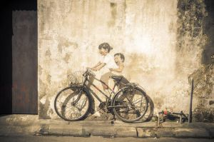 Wall Painting in Penang by Izam01