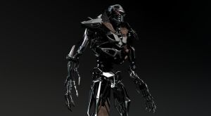 Unused cylon concept by zeustoves